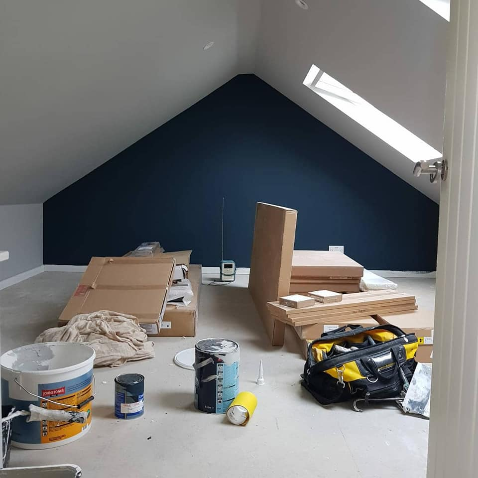Loft conversion in Takeley.