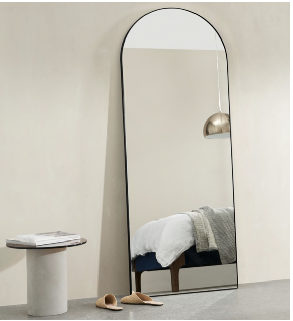 Large mirrors create a focal point & bounce the light around